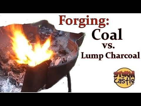 Forging with Coal Versus Hardwood Lump Charcoal