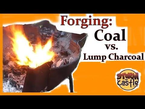 forging with coal versus