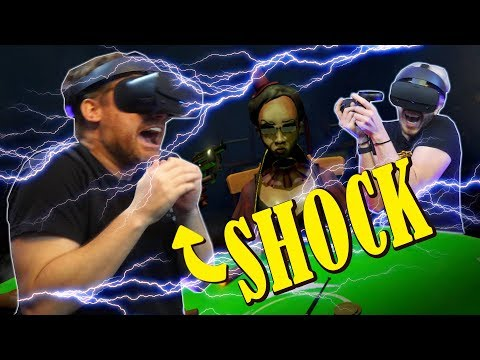 We play Russian Roulette with ELECTRIC SHOCKS!