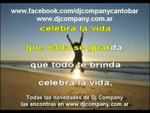 Axel Celebra La vida Karaoke By Cantobar Company