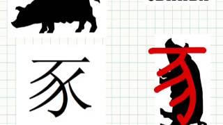 """Китайский иероглиф """"дом"""""""