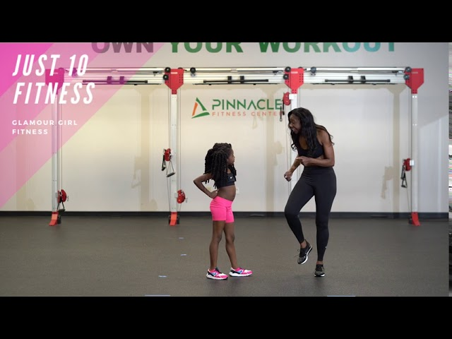 Enjoy this fun workout with your kids at home