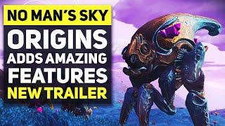 STUNNING UPDATE! No Man's Sky Origins - New Exploration Overhaul, Weather Effects, Volcanoes & More!