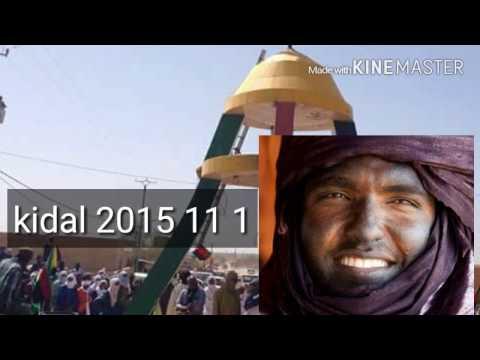 Message (en Tamachek) deMoussa Ag Assarid au peu