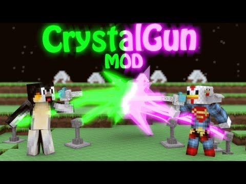 Element Gun Mod: Minecraft Crystal Gun Mod Showcase!