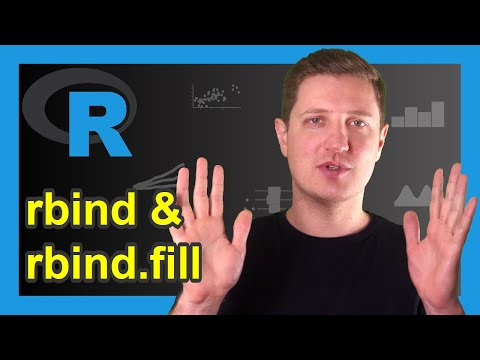 rbind & rbind.fill R Functions | How to Combine Data Frames by Row