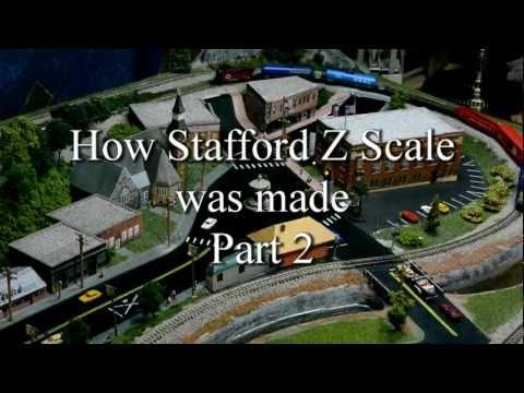 Making Satfford Z scale part 2