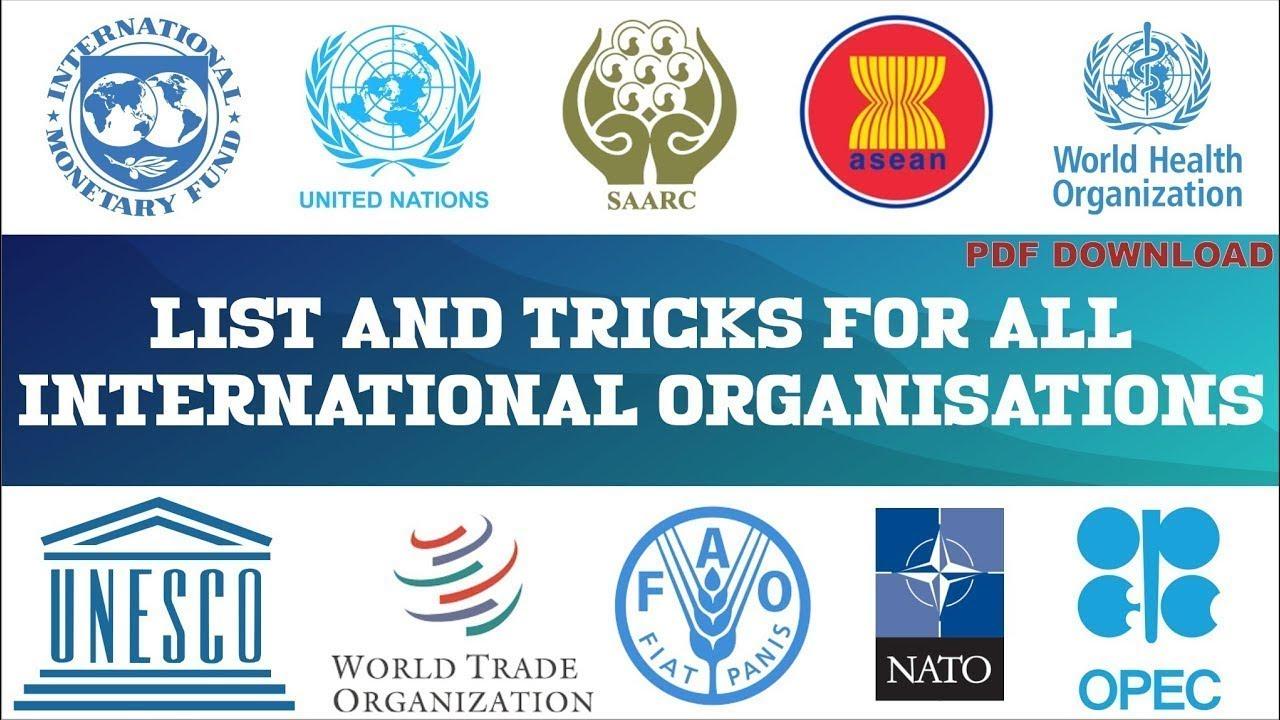 International organizations in political system