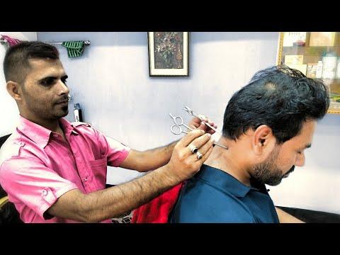 Head massage with neck Cracking (ASMR)