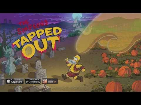 The Simpsons: Tapped Out  Treehouse of Horror Update 2013