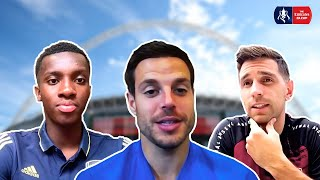 Final Preview Show | Nketiah, Azpilicueta, Martinez, Mount | Emirates FA Cup 19/20