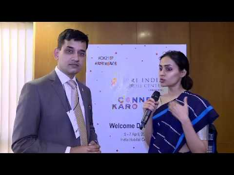 Amit Bhatt and Radhika Khosla at #CK2017