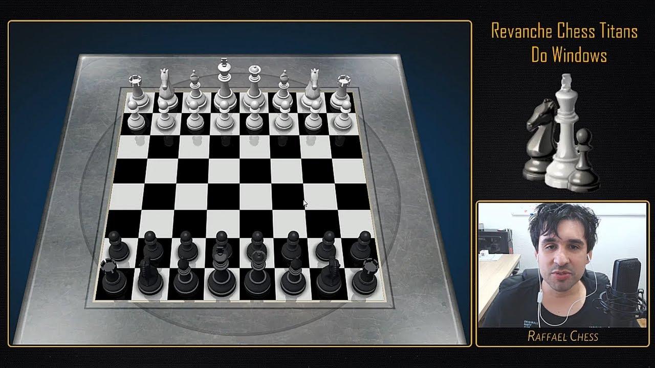 Já jogou de PRETAS contra o Chess Titans do Windows no nível máximo?? | A  Revanche