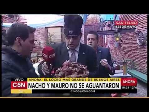 C5N - 25 de Mayo: Así preparan el locro más grande de Buenos Aires (Parte 2)