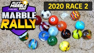 Incredible Sand Race with Marbles!