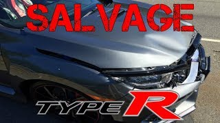 The First SALVAGE Civic TYPE R & How Much it would COST to REBUILD (Honda) thumbnail