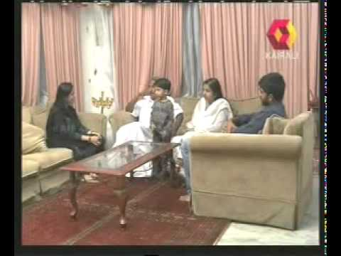 A Programme about Oommen Chandy & Family.