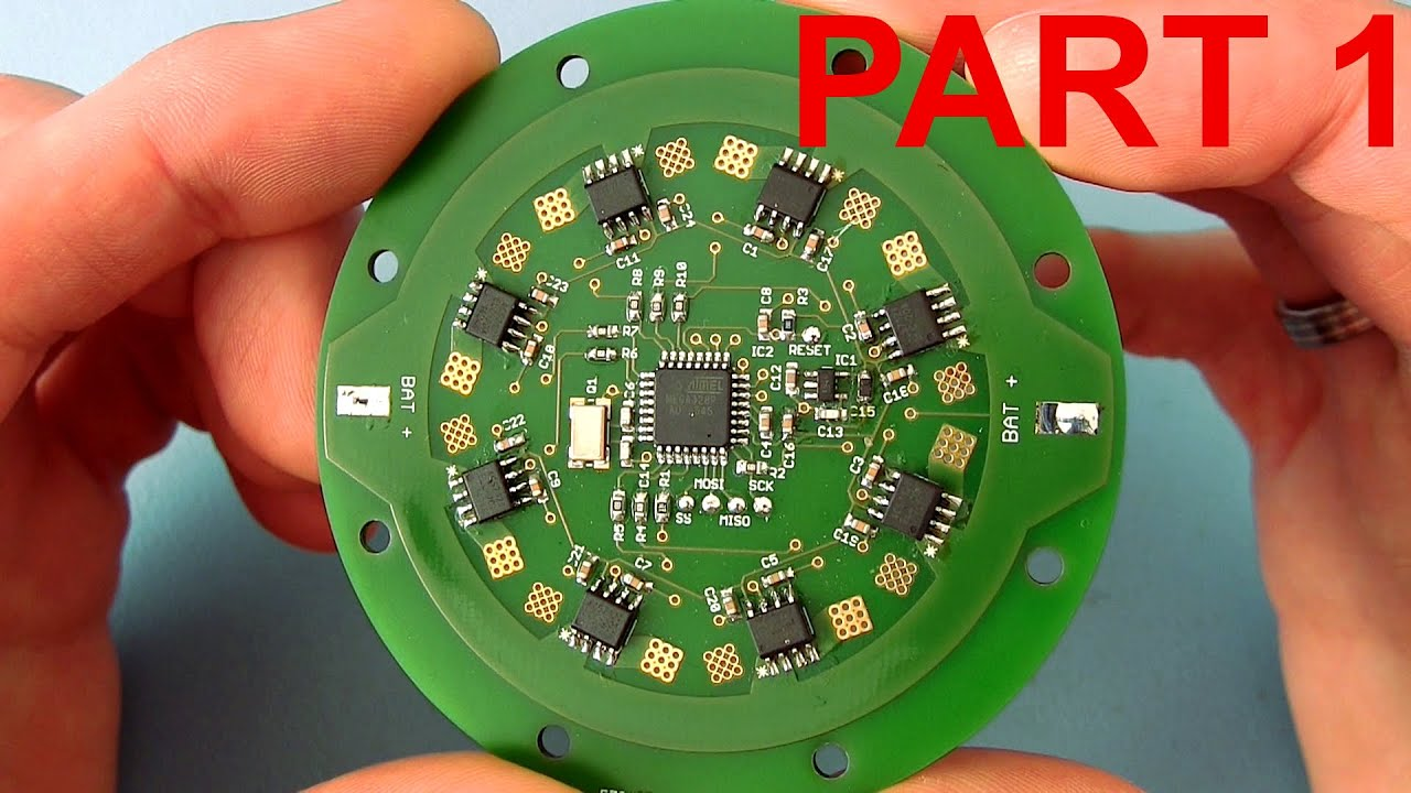 Design your own professional printed circuit board (PCB) - part 1