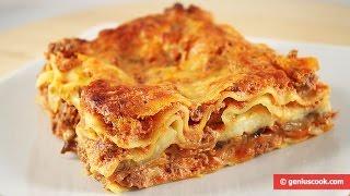 Лазанья с Баклажанами и Моцареллой. Lasagna con Melanzane.