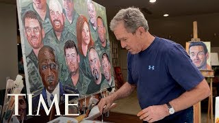 George W. Bush & Veteran Richard Casper On Finding Healing In Art: Evidence Of Things Unseen | TIME