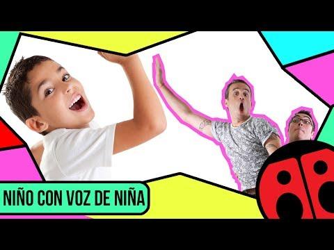 Niño con voz de niña - Pegao en el taco - Radio Carolina
