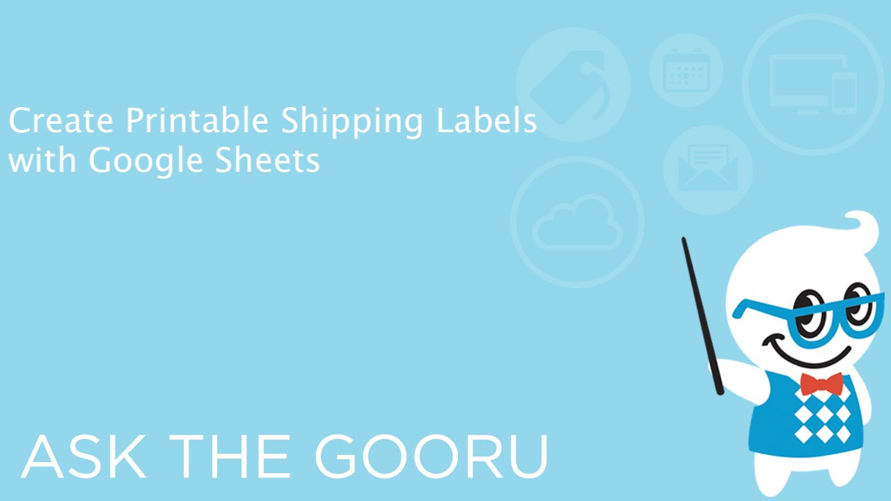 image about Printable Labels Sheets named Build Printable Transport Labels with Google Sheets