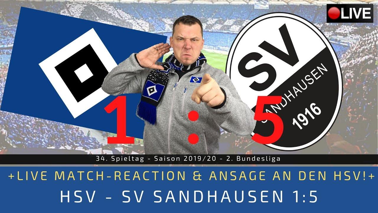 Sandhausen Gegen Hsv