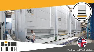 MODULA Lift. Innovative Vertical Warehouse Storage System