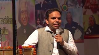 Social Entrepreneur Srijan Pal Singh at Kalam Dreamz Foundation Lucknow