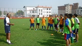 AFC Elite coaching instructor Vincent Subramaniam on C license course