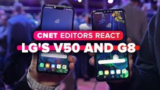 LG's 5G-rocking V50 ThinQ and G8: Editors react