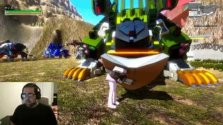 Zoids World trial version 1.23 playthrough