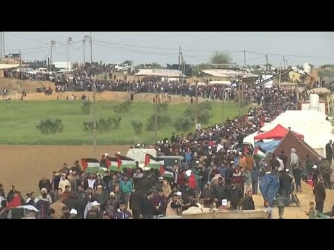 Several Palestinians killed in Gaza-Israel border protests