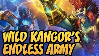 Wild Kangor's Endless Army | Rastakhan's Rumble | Hearthstone