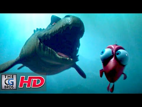 """CGI 3D Animated Short: """"MOSASAURUS"""" - by Creative Seeds students 