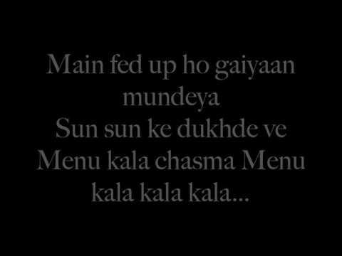 'Kala Chasma' 2016 Sid Kat Bar bar dekho Lyrics