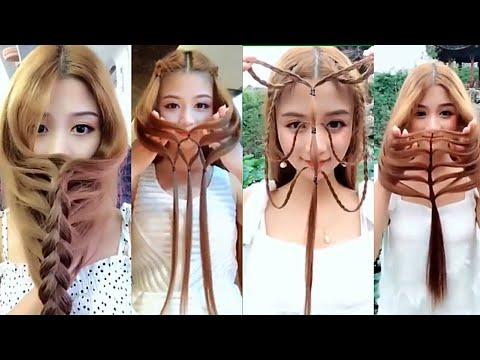 50 Penteados Rápido Lindo E Fácil Para Fazer Sozinha Passo A Passo Penteado Com Trança Cabelo Liso
