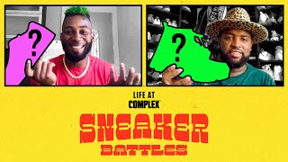 The Green Goblin, Jalen Mills vs Miami Dolphins Davon Godchaux In A SneakerBattle | #LIFEATCOMPLEX
