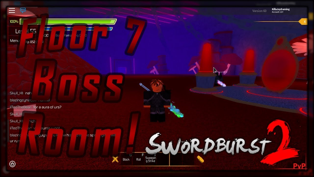 Swordburst 2 floor 7 how to find boss room youtube for Floor 5 map swordburst 2