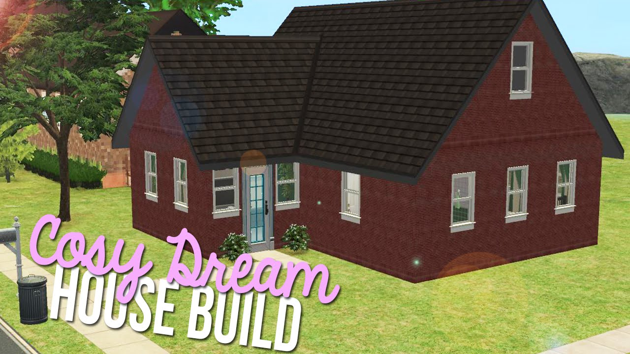 Sims 2 House Build Cosy Dream Cheap Furnished Home