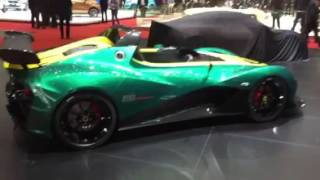 Lotus 3-Eleven - Quick First View From The Geneva Motor Show