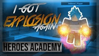 Another New MHA Game! | Heroes Academy | Roblox