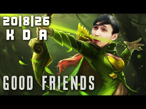 GOOD FRIENDS IN SOLO Q (SingSing Dota 2 Highlights #1402)