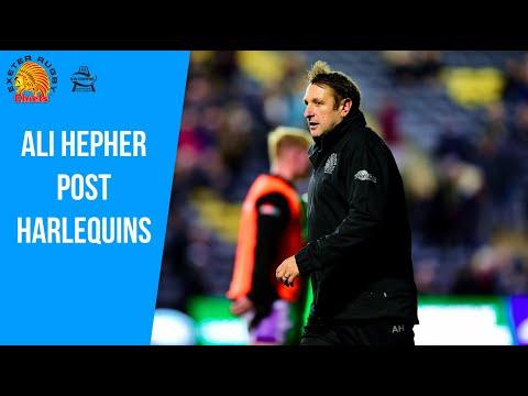 Chiefs TV - Ali Hepher post Gallagher Premiership vs Harlequins
