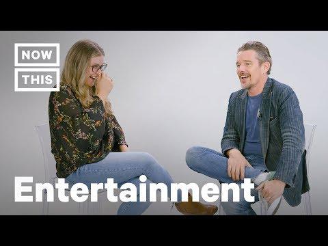 Ethan Hawke Full  on Blaze Foley, Robin Williams, & The Movies  NowThis