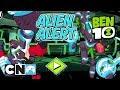 Ben 10 | Omnitrix Glitch: Alien Alert Playthrough | Cartoon Network Africa