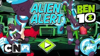 Ben 10 | Omnitrix Glitch: Alien Alert Playthrough | Cartoon Network Africa