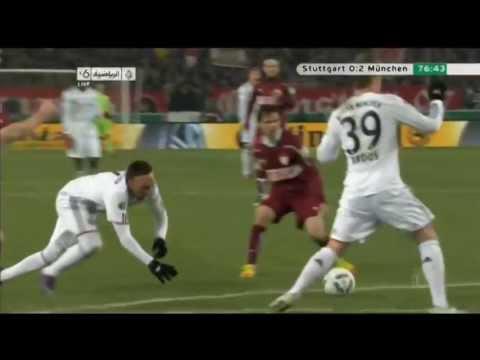 Robbery: Arjen Robben & Franck Ribery - Best dives 2011-2012