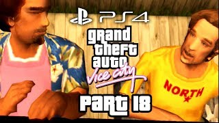 Grand Theft Auto Vice City PS4 Gameplay Walkthrough Part 18 - The Pole Position Club - Kaufman Cabs