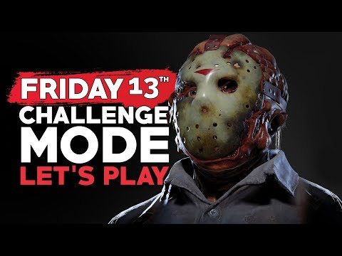 Friday 13th | Challenge Mode | Missions 1-3 Let's Play